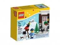 LEGO 40124 Zimowa zabawa