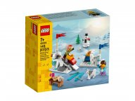 LEGO 40424 Zimowa bitwa na śnieżki