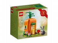 LEGO Marchewkowy domek zajączka wielkanocnego 40449