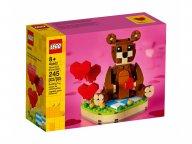 LEGO Walentynkowy niedźwiedź brunatny 40462