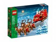 LEGO 40499 Sanie Świętego Mikołaja
