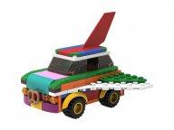LEGO 5006890 Latający samochód do przebudowywania
