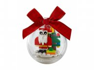 LEGO Świąteczna bombka z Mikołajem 854037
