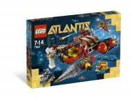 LEGO 7984 Atlantis Niszczyciel głębinowy