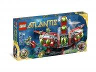 LEGO 8077 Atlantis Dowództwo badań Atlantydy
