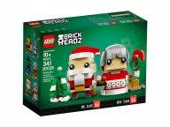 LEGO BrickHeadz Święty Mikołaj i Pani Mikołajowa 40274