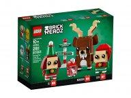 LEGO 40353 BrickHeadz Renifer, elf i elfka