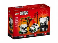 LEGO 40466 BrickHeadz Pandy na Chiński Nowy Rok