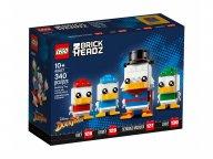 LEGO BrickHeadz Sknerus McKwacz, Hyzio, Dyzio i Zyzio 40477