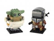 LEGO BrickHeadz Mandalorianin™ i Dziecko 75317
