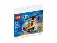 LEGO City 30566 Helikopter strażacki