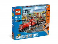 LEGO City 3677 Red Cargo Train