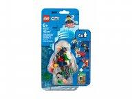 LEGO 40372 City Zestaw akcesoriów i minifigurek policyjnych