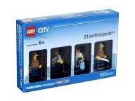 LEGO 5004940 City Bricktober - zestaw minifigurek