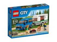 LEGO 60117 Van z przyczepą kampingową