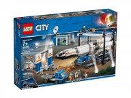 LEGO 60229 Transport i montaż rakiety