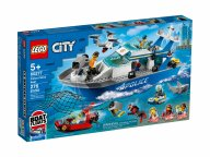 LEGO City 60277 Policyjna łódź patrolowa