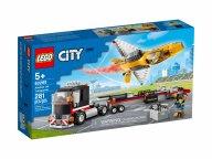 LEGO City 60289 Transporter odrzutowca pokazowego