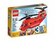 LEGO 31003 Czerwony śmigłowiec