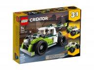 LEGO 31103 Creator 3 w 1 Rakietowy samochód