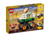 LEGO Creator 3 w 1 31104 Monster truck z burgerami