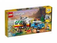 LEGO Creator 3 w 1 31108 Wakacyjny kemping z rodziną