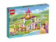 LEGO Disney 43195 Królewskie stajnie Belli i Roszpunki