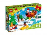 LEGO Duplo® 10837 Zimowe ferie Świętego Mikołaja