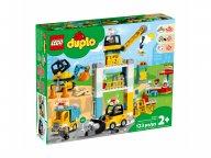 LEGO 10933 Żuraw wieżowy i budowa
