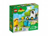 LEGO Duplo 10945 Śmieciarka i recykling