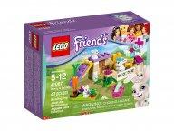 LEGO 41087 Friends Królik i maluchy