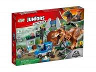LEGO 10758 Juniors T. rex na wolności