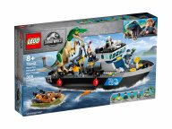 LEGO 76942 Jurassic World Barionyks i ucieczka łodzią