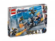 LEGO Marvel Avengers 76123 Kapitan Ameryka: atak Outriderów