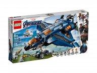 LEGO Marvel Avengers 76126 Wspaniały Quinjet Avengersów