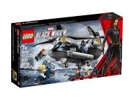 LEGO Marvel Avengers 76162 Czarna Wdowa i pościg helikopterem