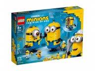 LEGO Minions Minionki z klocków i ich gniazdo 75551