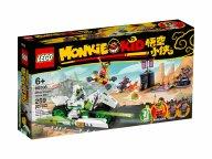LEGO 80006 Monkie Kid Motocykl Biały Smok