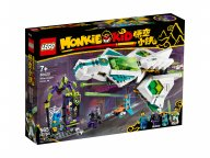 LEGO 80020 Monkie Kid Odrzutowiec Biały Smok