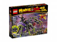 LEGO 80022 Monkie Kid Baza arachnoidów Spider Queen