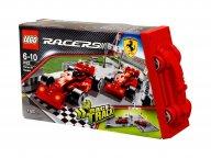 LEGO 8123 Racers Bolidy F1 Ferrari