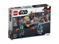 LEGO Star Wars™ Zestaw bojowy Mandalorianina™ 75267