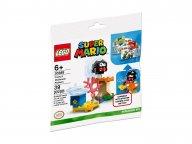 LEGO Super Mario Fuzzy i platforma z grzybem 30389