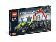 LEGO Technic Traktor z ładowarką kłód 8049