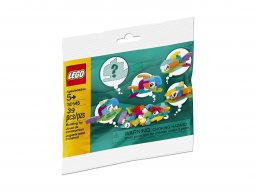 LEGO Fish Free Builds - Make It Yours 30545