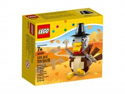 LEGO 40091 Thanksgiving Turkey