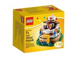 LEGO Ikona LEGO®: Urodzinowa dekoracja stołu