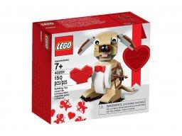 LEGO 40201 Walentynkowy piesek