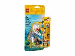 LEGO 40373 Zestaw akcesoriów i minifigurek z lunaparku LEGO®
