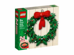 LEGO Bożonarodzeniowy wieniec 2 w 1 40426